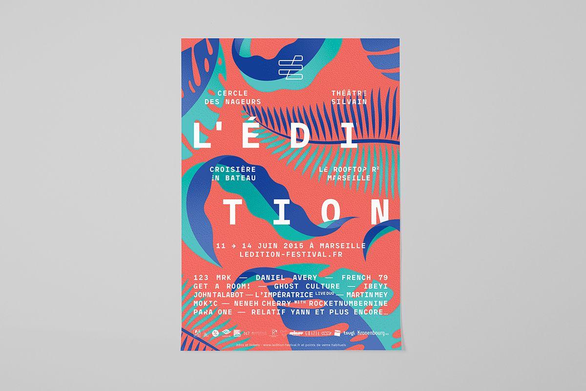 L Edition Festival On Behance Festival Design Graphic Design Graphic Design Studios