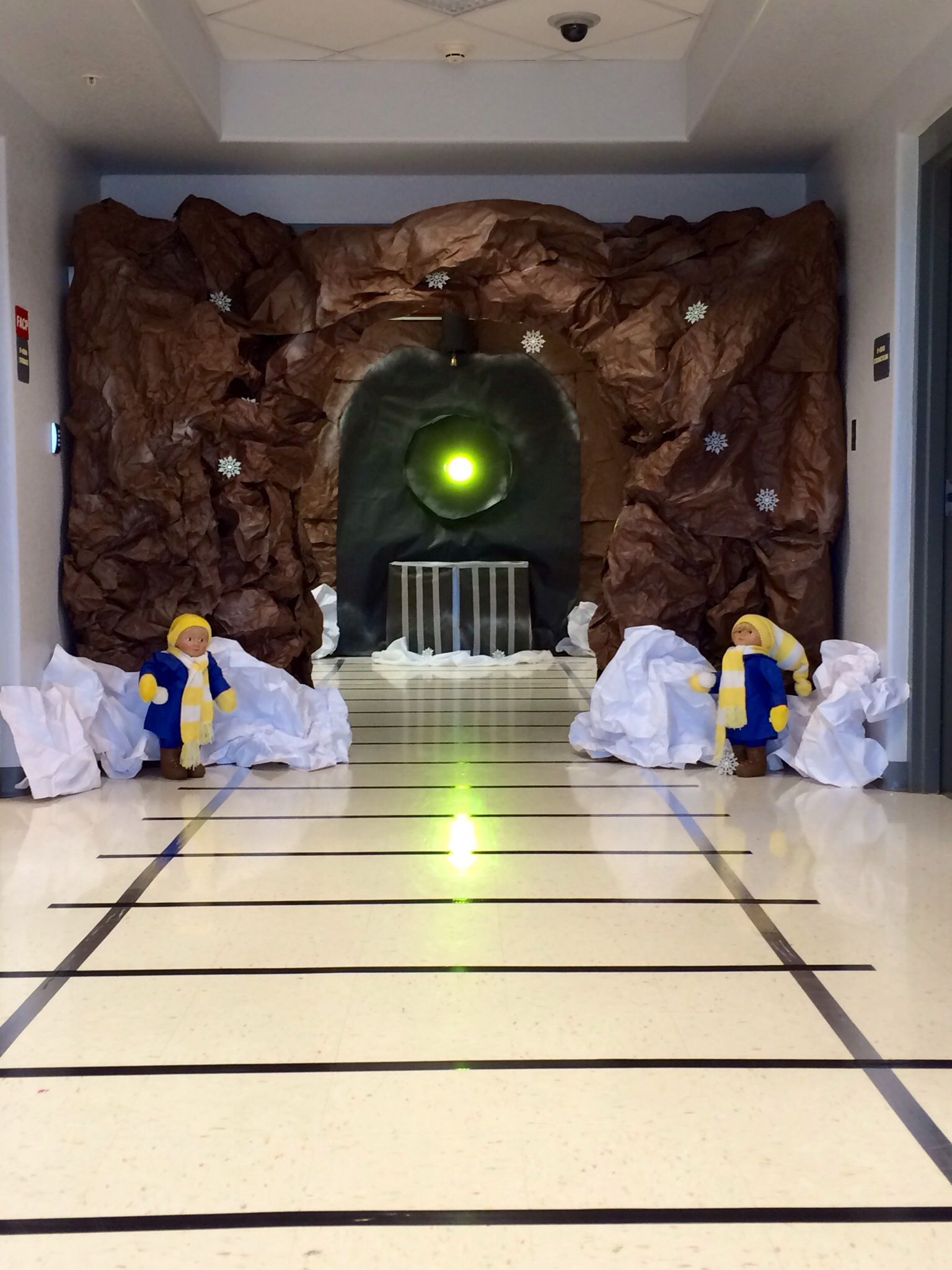 Polar Express Entrance With Images