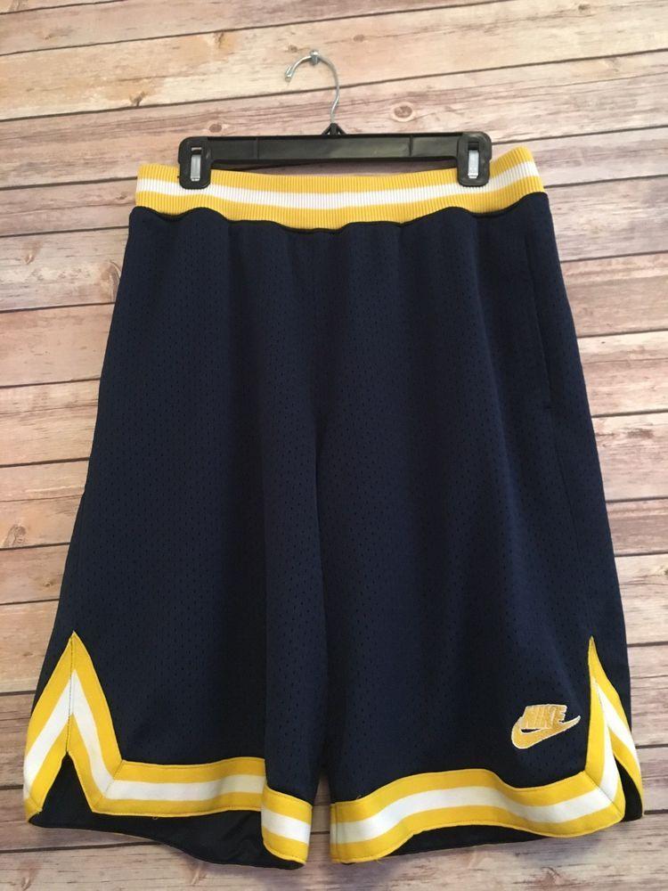 c710146fb9 Vintage Nike Supreme Court Basketball Shorts Double Layer Men's Medium |  eBay