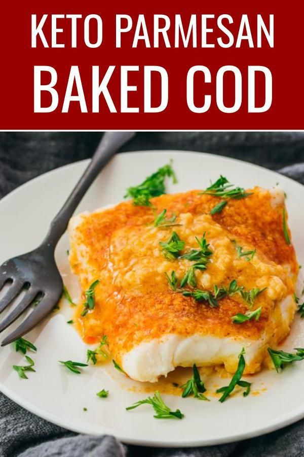 Keto Baked Cod - Savory Tooth