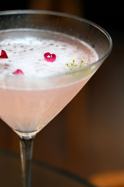 Rose syrup and lychee cocktail | For all things sweet