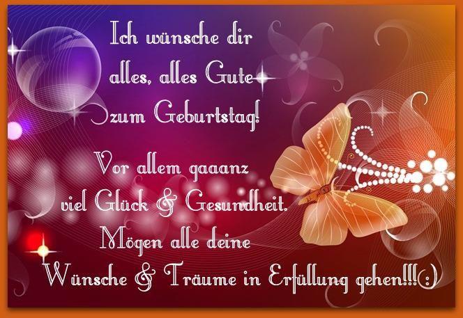 Ich Wünsche Dir Alles Alles Gute Zum Geburtstag Birthday Wishes