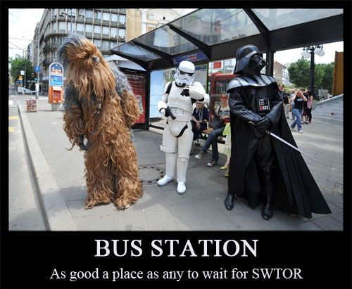 bus station ...
