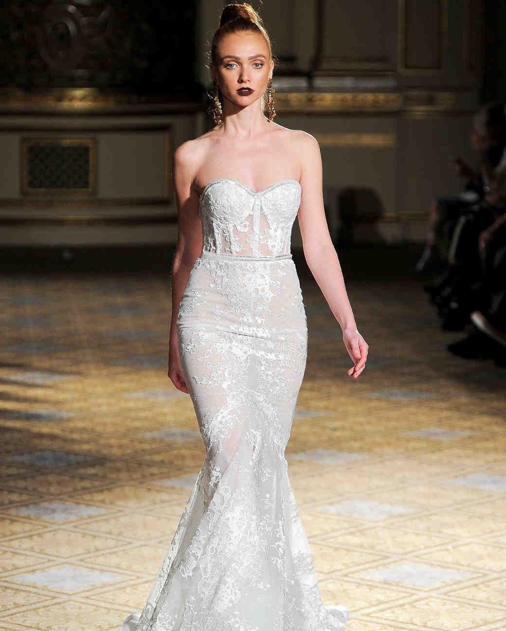 Berta Spring 2018 Wedding Dress Collection Wedding Dresses Bridal Fashion Week Wedding Dress Trends [ 1298 x 1040 Pixel ]