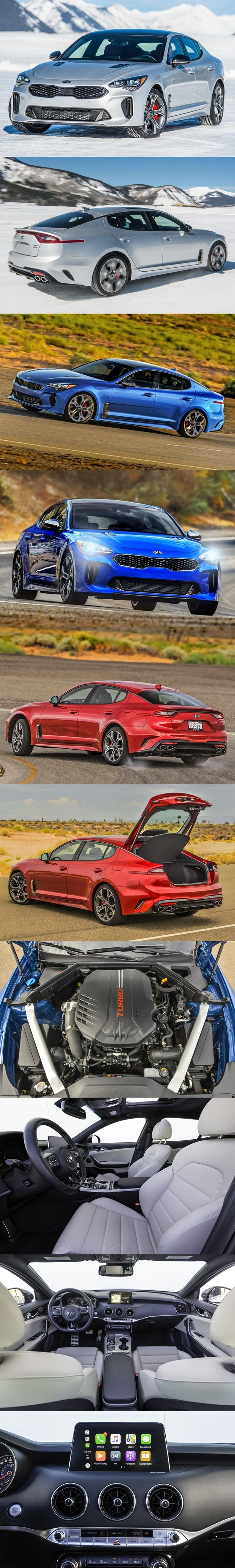 2018 Kia Stinger Recalled For Wiring Harnesses That Could Ignite