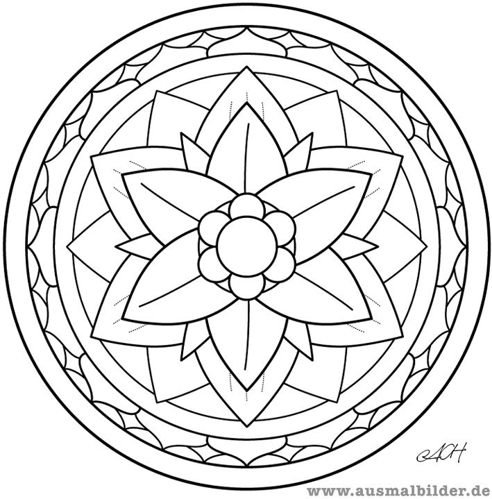Mandala (inspiration for table top) | Mosaic Ideas | Pinterest ...