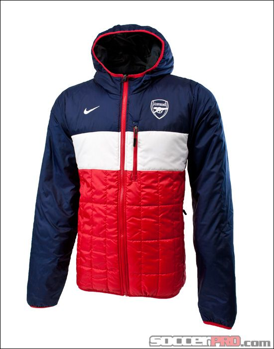 72fa54d8fe Nike Arsenal Flip-It Reversible Jacket - Artillery Red with White... 112.49