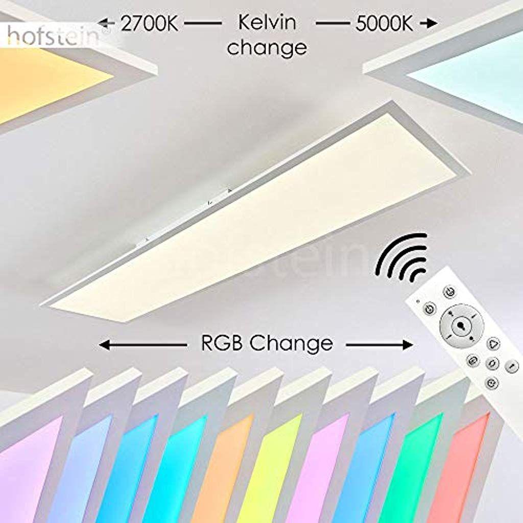 LED Decken Lampe weiß RGB Farbwechsel Fernbedienung Flur Panel Leuchte dimmbar