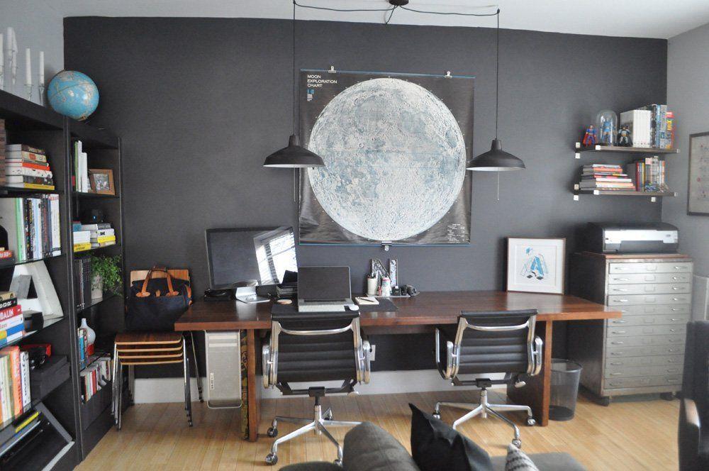 Wandfarbe Arbeitszimmer ~ Wandfarbe grau: 29 ideen für die perfekte hintergrundfarbe in jedem