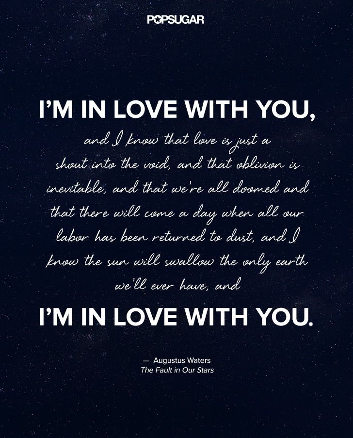 Quotes About Stars And Love Adorable The Most Beautiful Quotes From The Fault In Our Stars  Beautiful