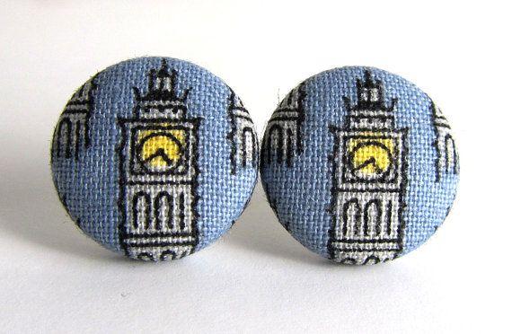 London calling! Big Ben earrings $8.90