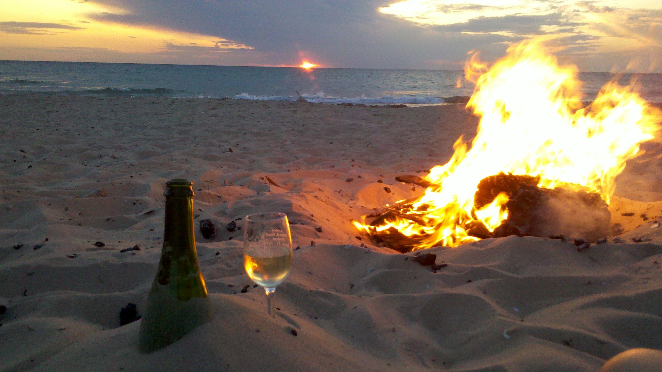 Fire Wine Brillante Sparkling Wine At Empire Beach
