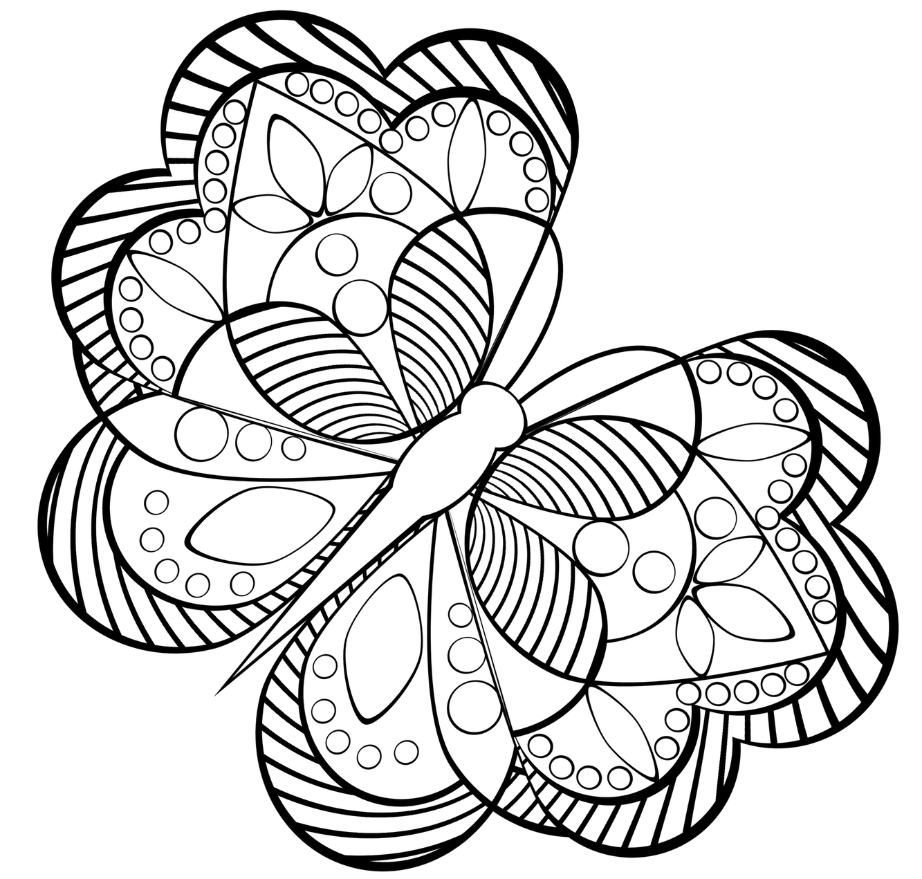 Detailed Geometric Coloring Pages | Printable Coloring Pages ...