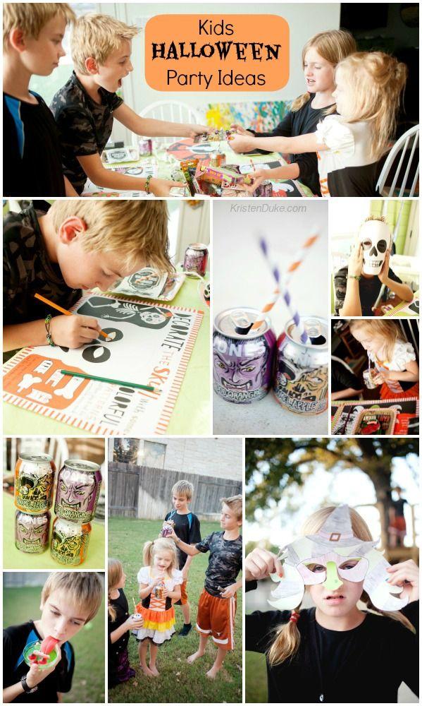 Kids Halloween Party Ideas Halloween parties, Party activities and - fun halloween party ideas