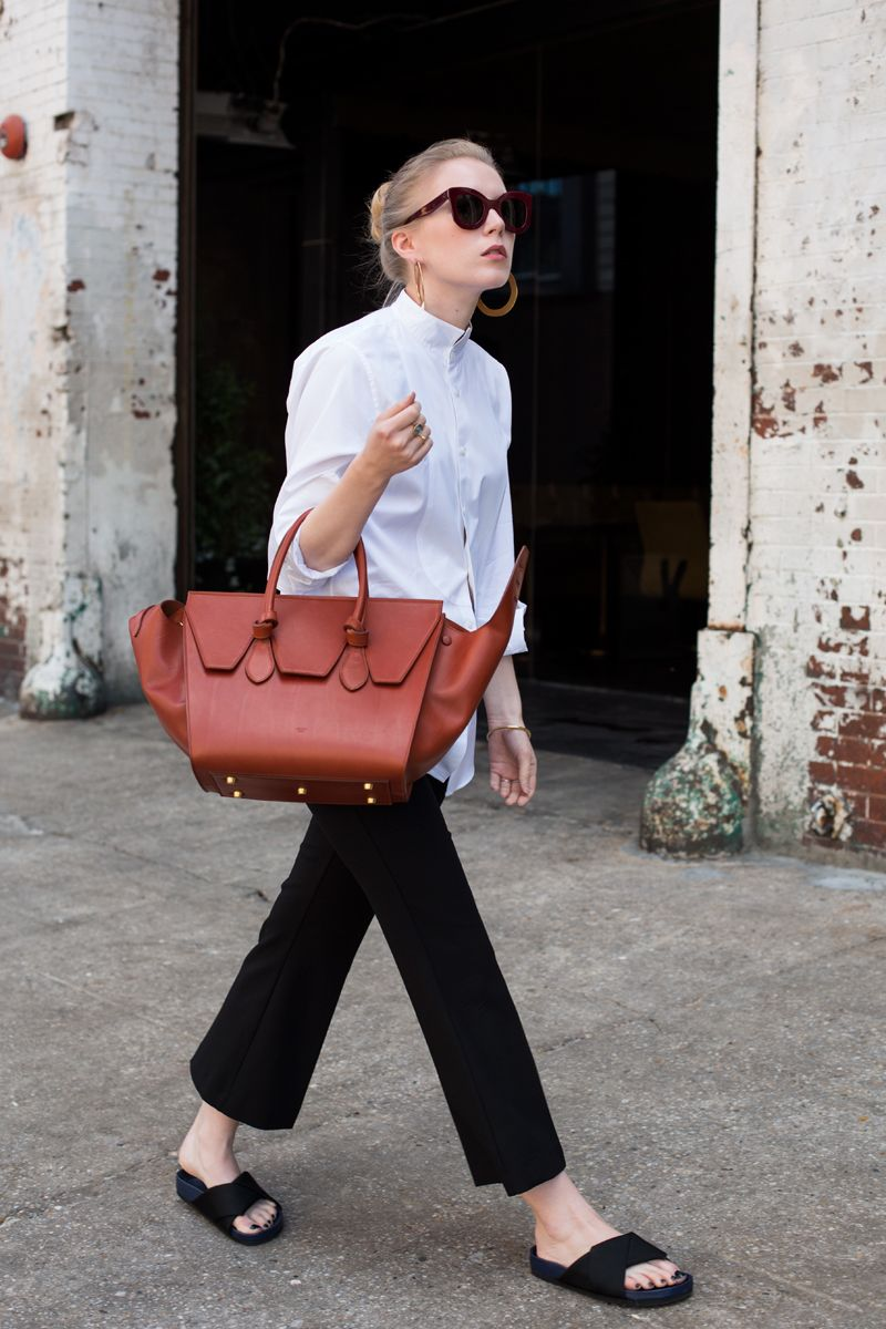 An Incredibly Stylish Way to Wear the Kick Flare Trousers