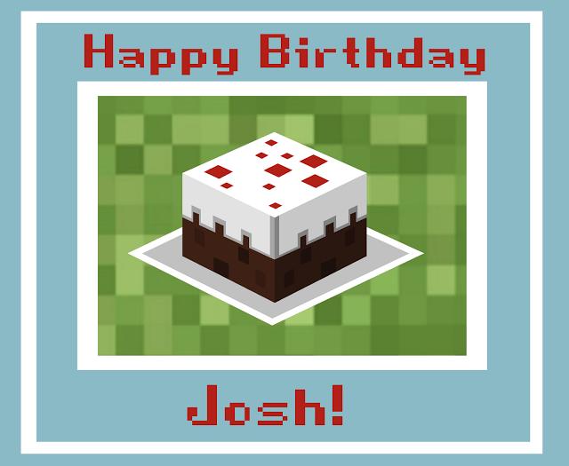 Gallery For Minecraft Birthday Card Minecraft Birthday Card Minecraft Birthday Birthday Cards