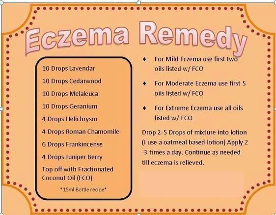 Eczema Eczema Essential Oils Essential Oils For