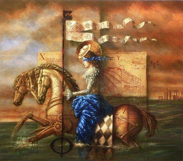 Jake Baddeley Les Legendes Du Graal Surrealisme Peinture Art Surrealiste Les Arts