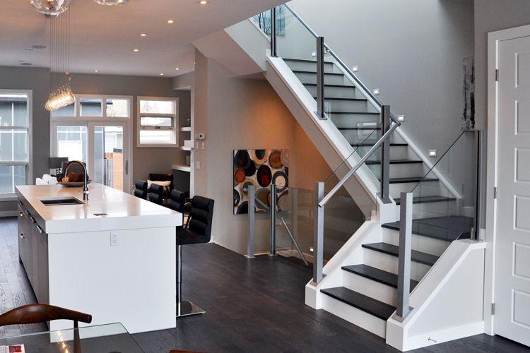 Best Deckview Glass Railing Calgary Interior Railings 400 x 300