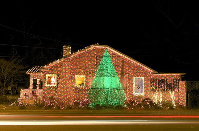 ideas to hide burned out led christmas lights photo of physicians house at upper canada village in ontario canada christmas 2012 pinterest led - New Outdoor Christmas Lights