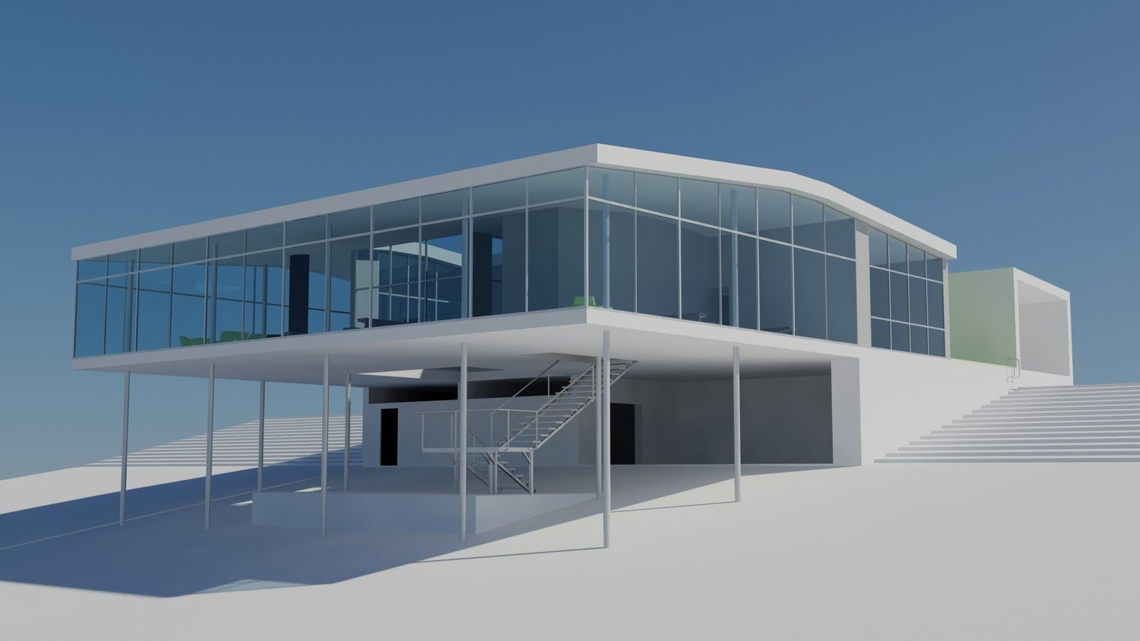 Casa de Vidrio - Lina Bo Bardi | AutoCAD, Facades and Architecture