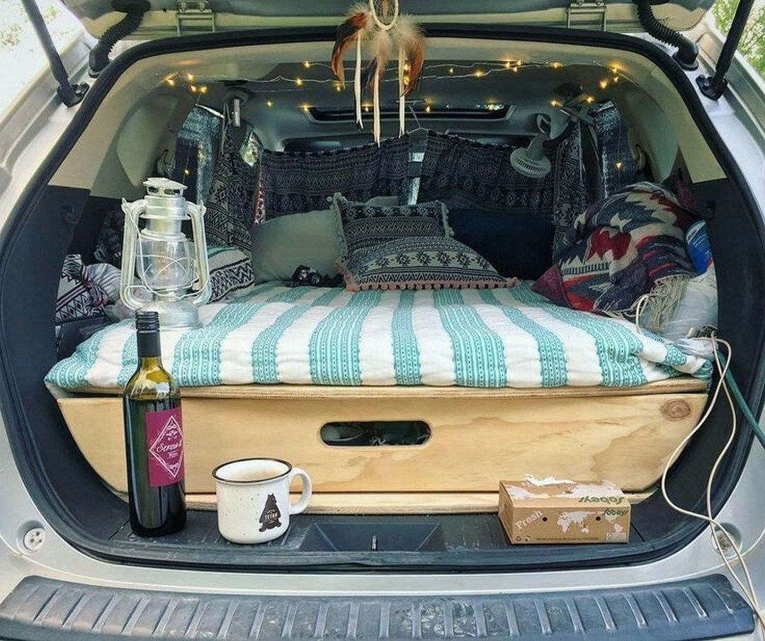 Ultimate Road Trip In Your Car Conversion 19 Minivan