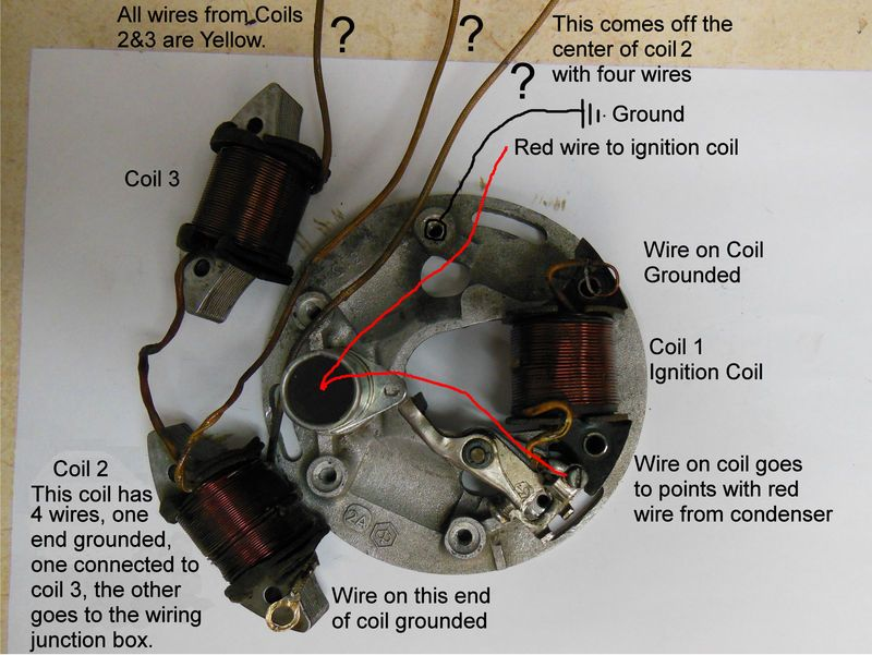 motorcycle stator wiring diagram lewis dot for helium wire great installation of scooter pinterest atv rh com honda