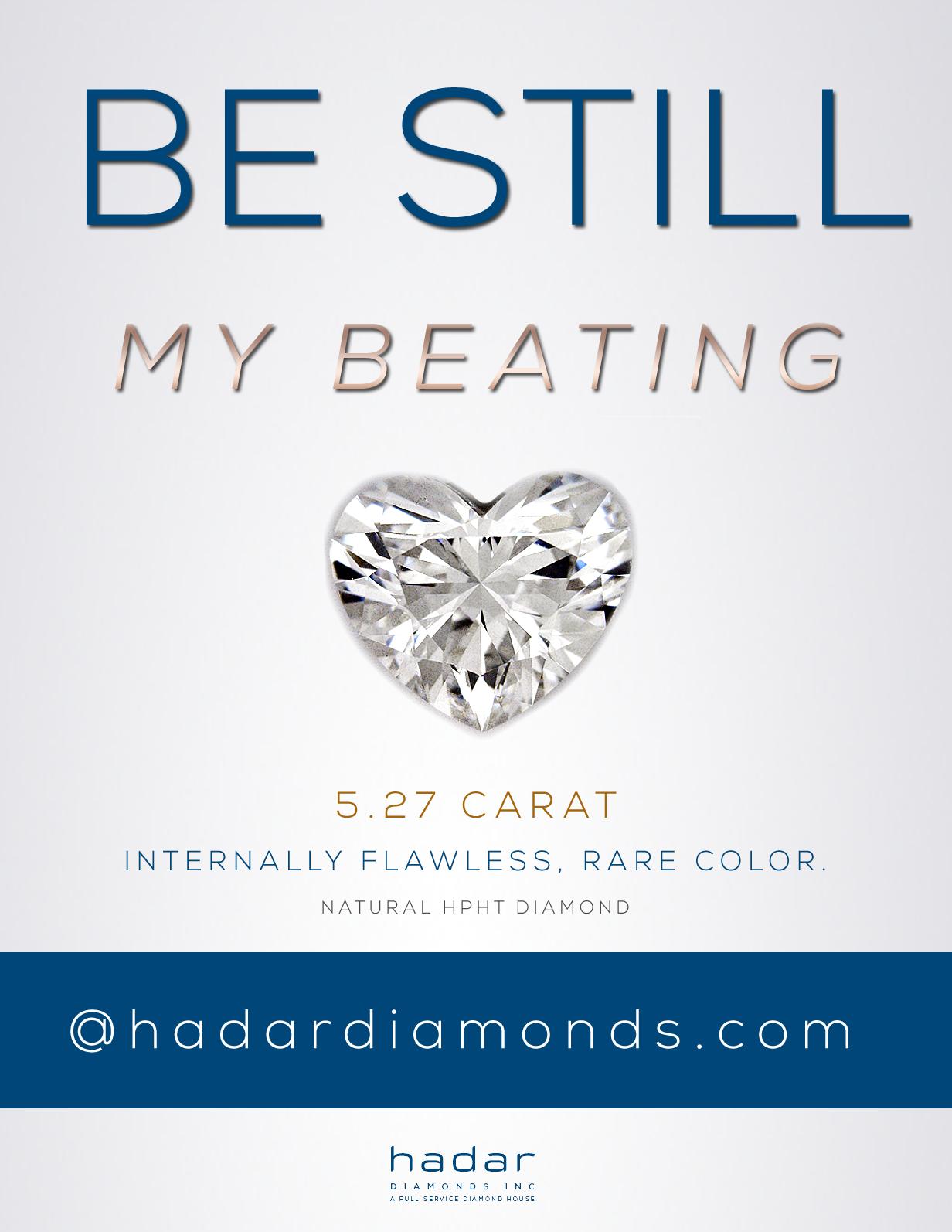 Heart Shaped Diamonds at HadarDiamonds.com | Be Still My ...