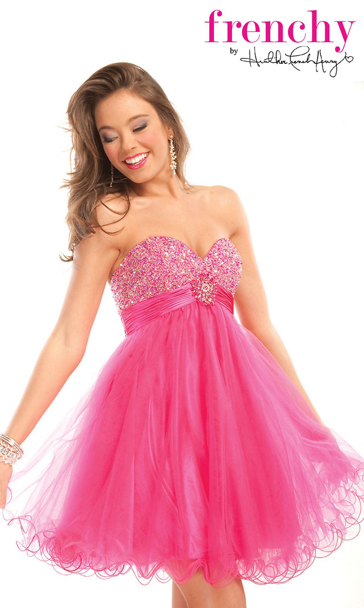 Short Strapless Babydoll Dress | Dresses | Pinterest