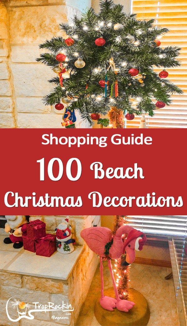 Beach Christmas Decor Isn T Always Easy To Find Here Are 100