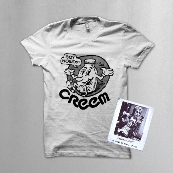 Creem Magazine T Shirt As Worn By John Lennon By