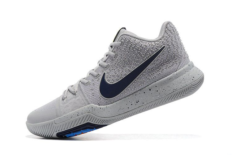 06b42830880 New Arrival Cheap Nike Kyrie 3 Cool Grey Midnight Navy-Pure 852395-001 Image