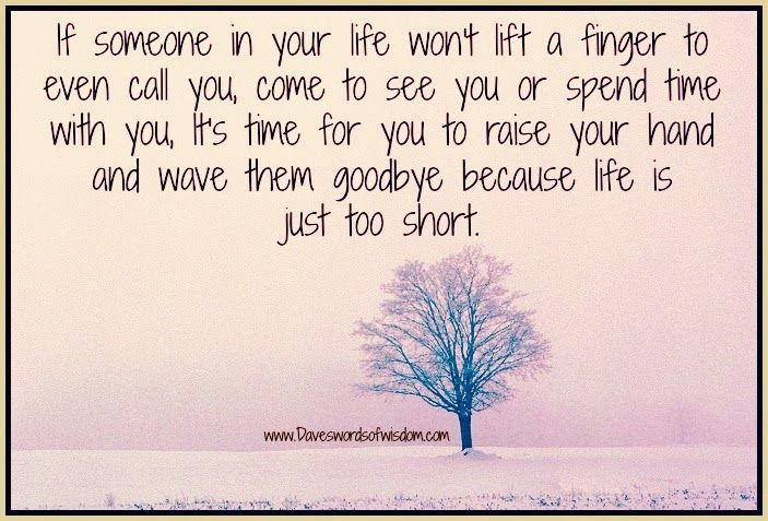 short quotes to live by | Goodbye because life is just too short