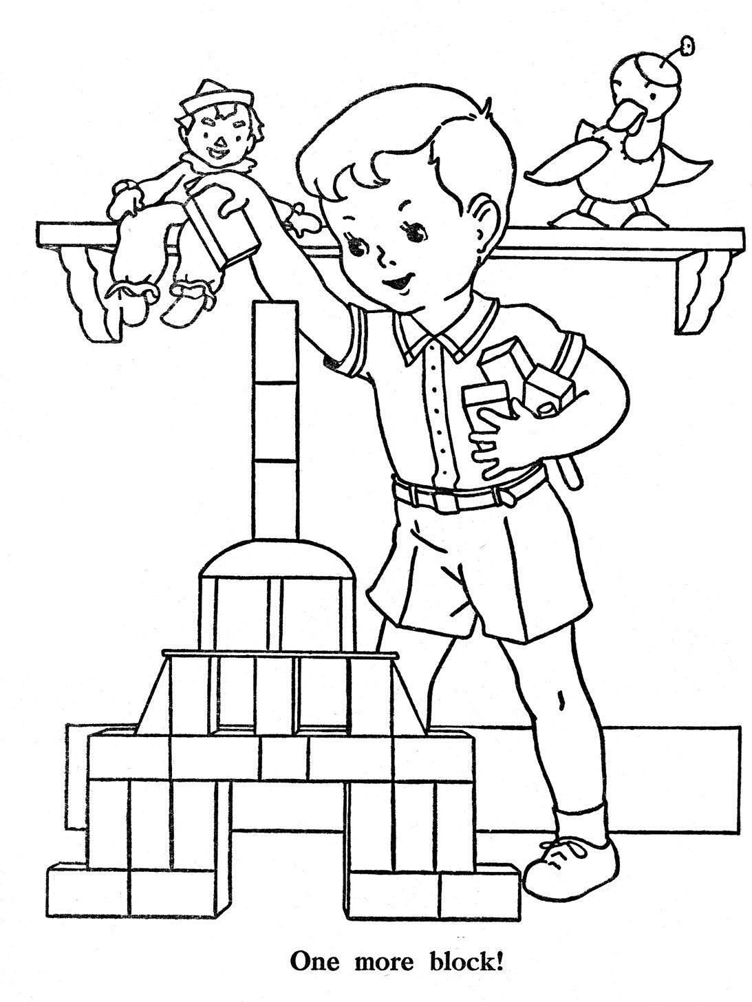 Favorite Paint Book — Little Boys | színezők | Pinterest | Colorear ...