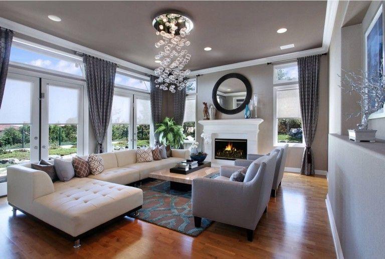 15 heroic futuristic minimalist living room design