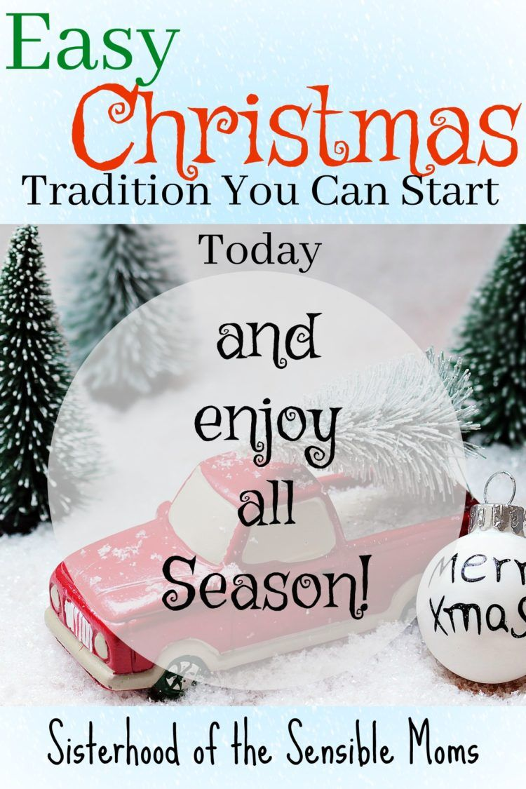 Easy Christmas Tradition You Can Start Today | Christmas traditions