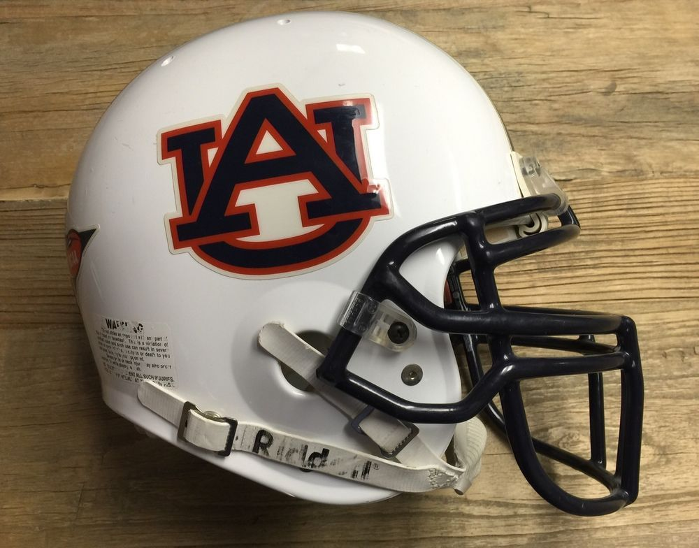 AUBURN TIGERS FULL SIZE FOOTBALL HELMET DECALS W//STRIPE