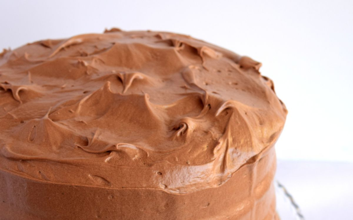 Good Old-Fashioned Chocolate Cake