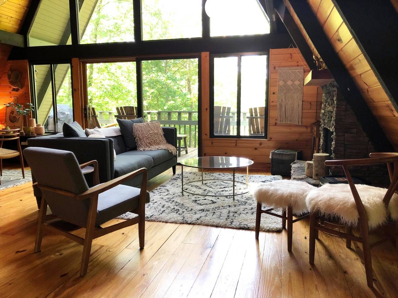 A Frame Chalet In Ellijay Cabins For Rent In Ellijay