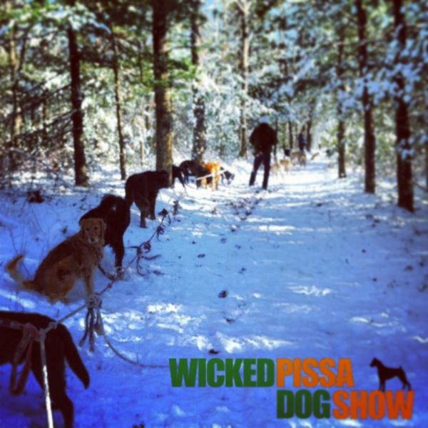 """Principle Photography begins for """"Wicked Pissa Dog Show""""! Gotta love the snow!  www.WickedPissaDogShow.com"""