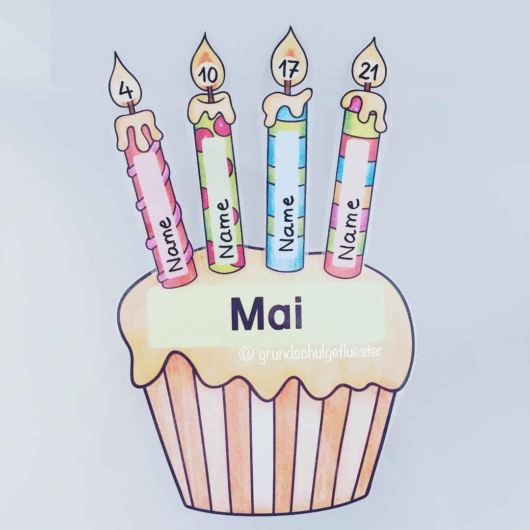 Fertig ist der Geburtstagskalender 🎉🎈Ich habe alles ...