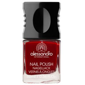 alessandro Nail Polish, Velvet Red, .34 oz
