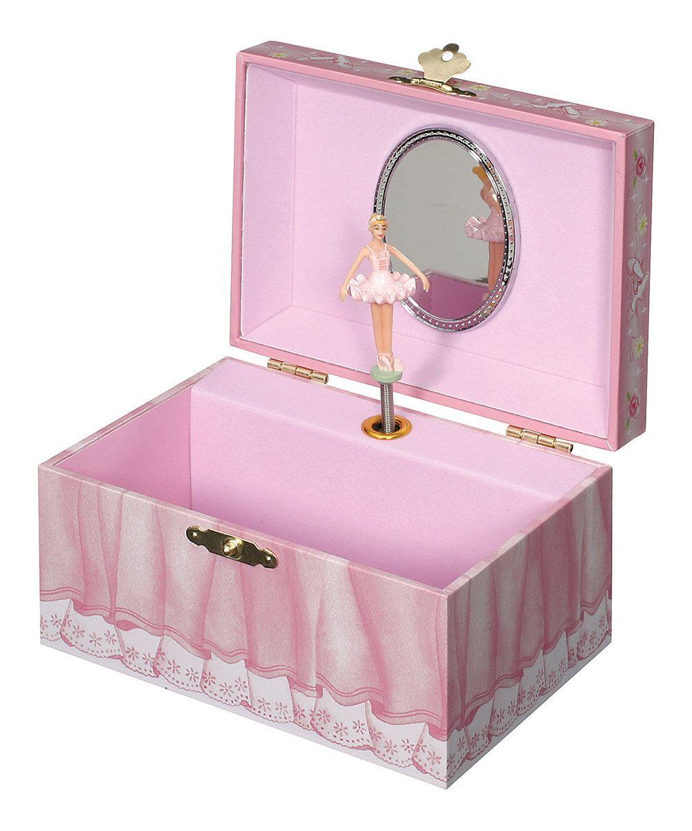 Ballerina Musical Jewelry Box by Toysmith on #zulily