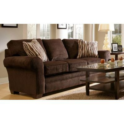 Broyhill Sleeper Sofa Natuzzi Leather Bed Sectional Zachary Upholstery Dark Brown Products