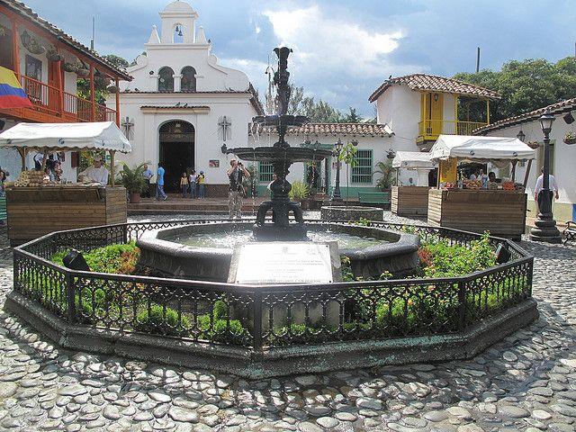 Medellin #colombia , El Pueblito Paisa