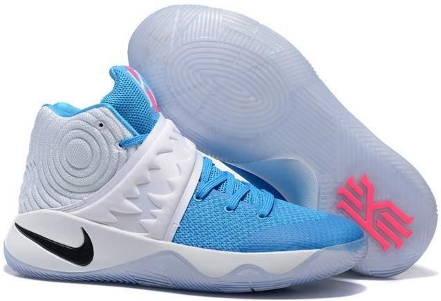 b343301d020 Kyrie 2 Christmas White Blue Pink Black