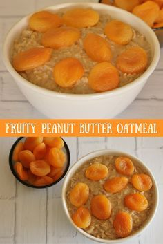 This protein-packed oatmeal is a great way to get your morning started!