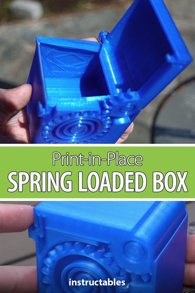 PrintinPlace Spring Loaded Box in 2020 Tool design