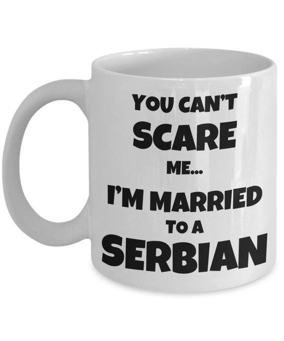SERBIAN HUSBAND GIFT for Serbian Mug Serbian Wife Gift Funny Serbian Gift Serbian Coffee Mug Serbian Couple Gift Funny Serbia Mug