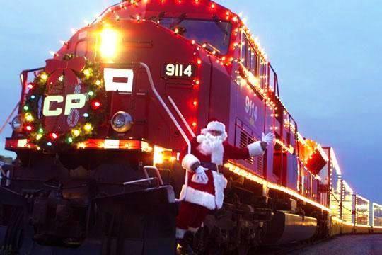 Christmas train #lawnmowervideos landscape architecture